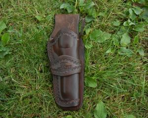 Westernový holster 5 1/2 na Colt Single Action SAA